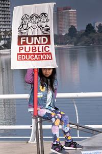 March for Education, Lake Merritt Amphitheater, Oakland, CA