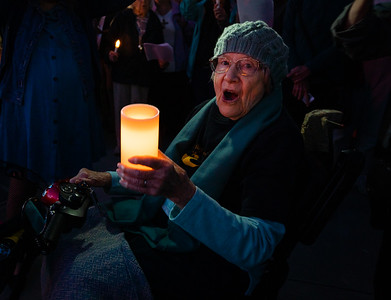 Lights for Liberty - Seniors for Peace 12 July 2019 Mill Valley CA