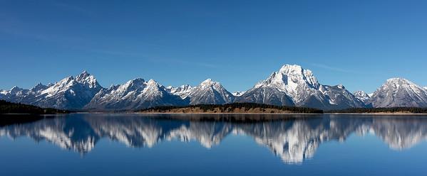DA029,DT Coulter Bay on Jackson Lake Teton National Park