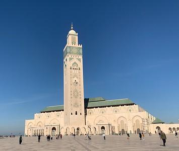DA093,DT,Hassan II Mosque Casablanca Morocco