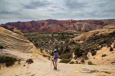 DA054,DT,Hiking in Snow Canyon, Utah