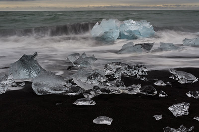DA061,DT,Diamond Beach, Iceland