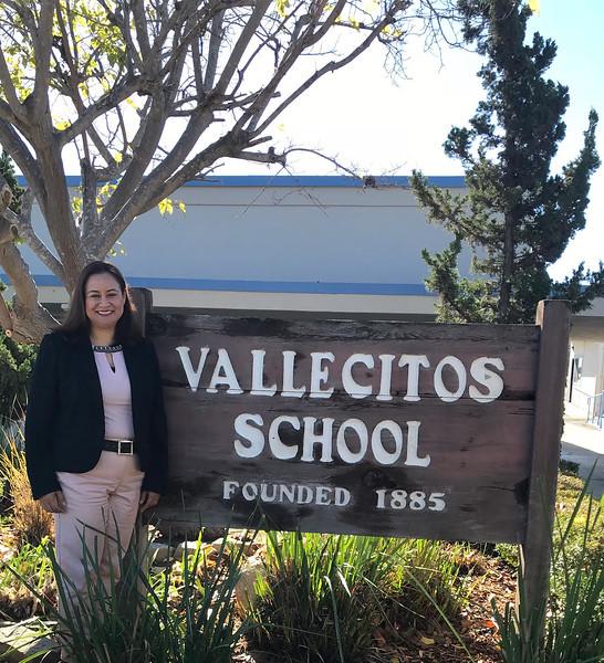 Dr. Maritza Koeppen, new superintendent/principal of the Vallecitos School District, starts her job on Jan. 2, 2018.