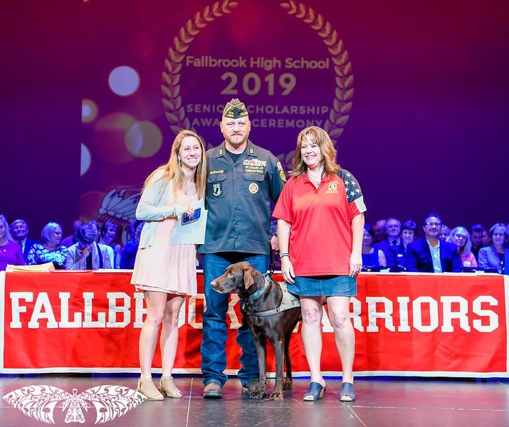 2019 Fallbrook High School Senior Awards