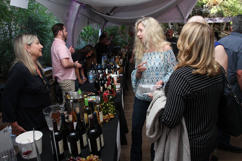 Guests gather at Pala Mesa Resort for the annual Wine, Brews and Blues fundraising event, June 15, hosted by the Rotary Club of Bonsall.