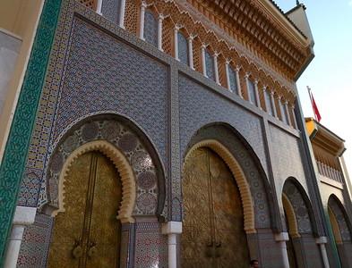 DA093,DT,Royal Palace of Fes,  Morocco