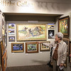 People gather for the annual Reflections of Nature art show reception at the Fallbrook Art Center, May 3. Shane Gibson photos