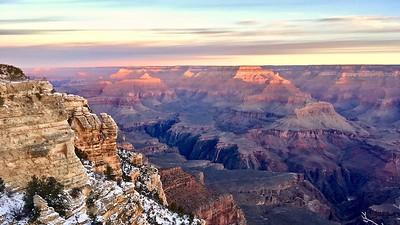 DA117,DT, Sunrise on Grand Canyon Arizona