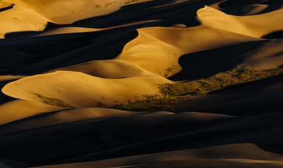 DA099,DT,Sunrise at Great Sand Dunes_Colorado