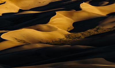 DA099,DT,Sunrise at Great Sand Dunes_Colorado