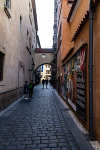 The streets of Prague Old Town