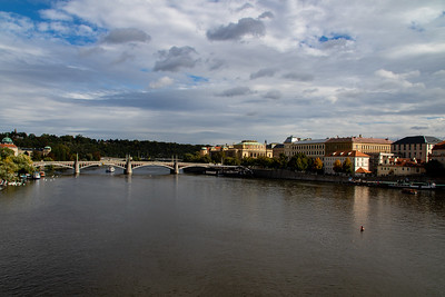 Prague on the Vltava