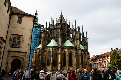 The apse of St. Vitus Cathedral
