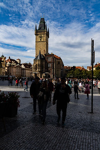 A view of Prague Old Town Hall