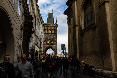 The Gate for Charles Bridge