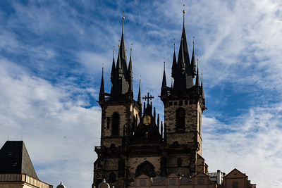 The Spires of Our Lady Before Tyn