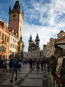 The Morning Light of Old Prague