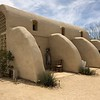 house of Lou Harrison (music composer) in Joshua Tree (town), CA