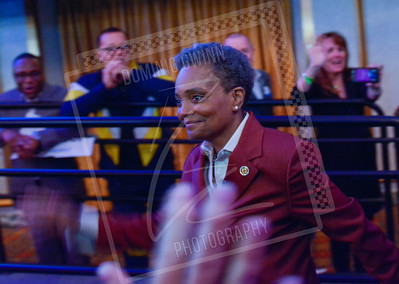 Newly Elected Chicago Mayor Lori Lightfoot on Election Night