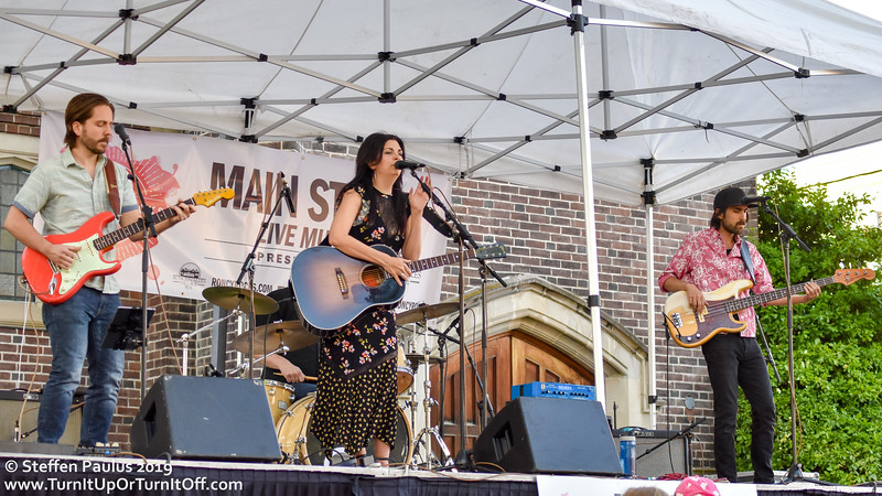 Damhnait Doyle @ Roncy Rocks, Wright Ave. Stage, Toronto, ON, 8-June 2019