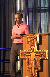 Andre gave a superb talk about his struggles duing the past few years. Relatable and honest and filled with the Holy Spirit. What else would you expect from André? :)