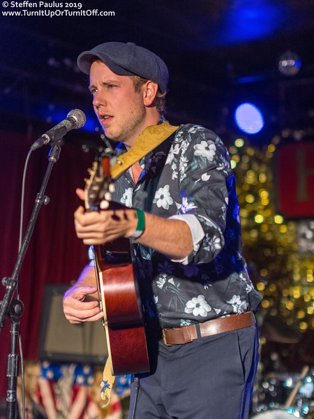 Joe Nolan @ The Horseshoe Tavern, Toronto, ON, Canada, 14-September 2019