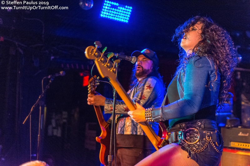 Nashville Pussy @ The Horseshoe Tavern, Toronto, ON, 26-September 2019