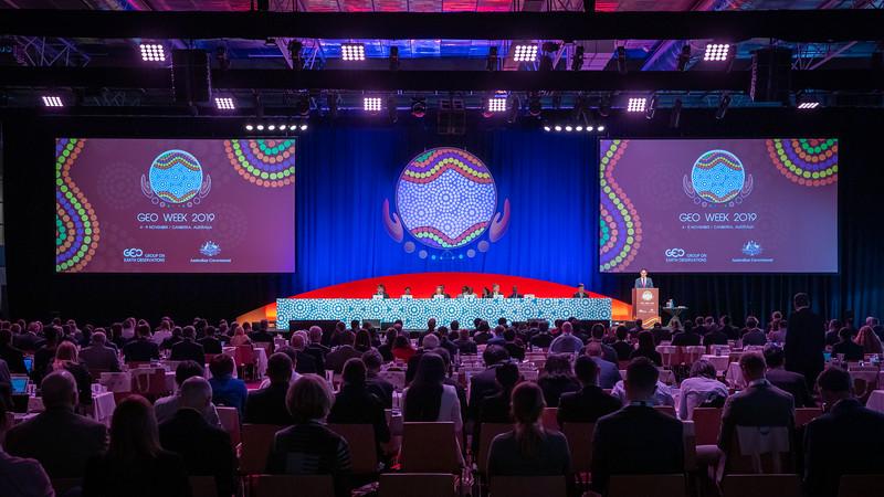 臺灣代表團前進澳洲參與地球觀測組織周(GEO Week 2019)