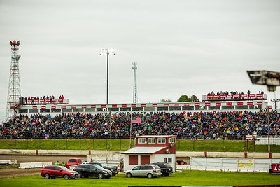 300 Raceway grandstands