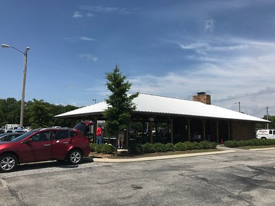 The Camp Jordan Pavilion is a great venue for our event.  Easy parking, on-site restrooms, lots of space, ceiling fans, and lighting.