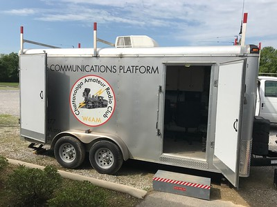 The MCP Communications Trailer continues to be a valuable asset to the club.