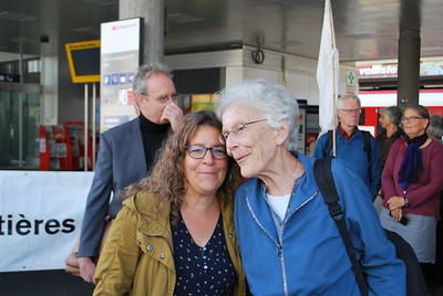 Anni Lanz, Sion, 21/08/19, mit Muriel Trummer, Amnesty Schweiz, Copyright: Amnesty International