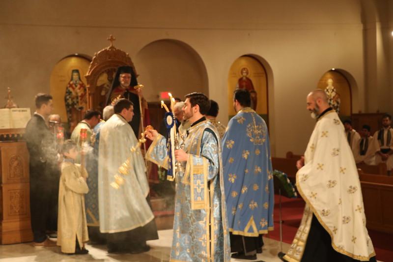 Annunciation Vespers