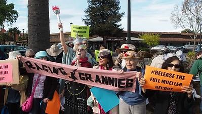 4 April 2019 MoveOn Rally in Palo Alto, CA