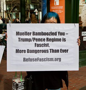 Release the Mueller Report! (photo/video by Charles Moehle)
