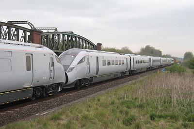 802204 Battledown 24/04/19 6X80 Dollands Moor to Eastleigh