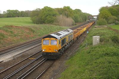 66712 Potbridge 24/04/19 6Y42 Hoo Junction to Eastleigh
