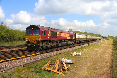 66119 Worting Junction 29/04/19 5O61 Wembley to Eastleigh with 67005 on the rear