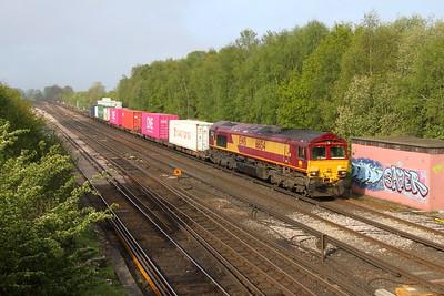 66154 Worting Junction 30/04/19 4E94 Southampton Western Docks to Masborough