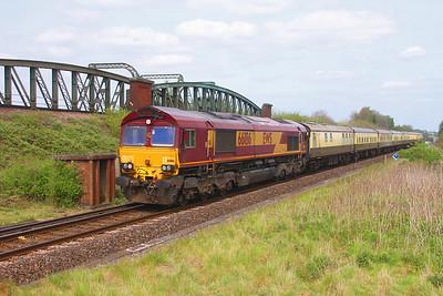66186 Battledown 30/04/19 5Z54 Tyseley to Eastleigh
