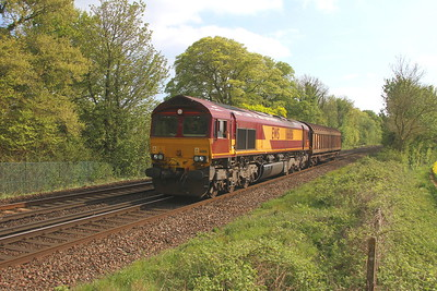 66186 Micheldever 30/04/19 6Z55 Eastleigh to Bescot Downside