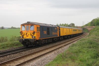 73962 Overton 24/04/19 1Q66 Woking to Woking via Fawley