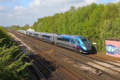 802201 Worting Junction 29/04/19 5X82 Eastleigh to Acton with 802202
