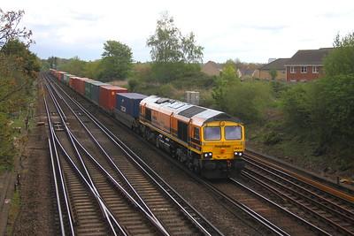 66413 Worting Junction 26/04/19 4O57 Wentloog to Southampton
