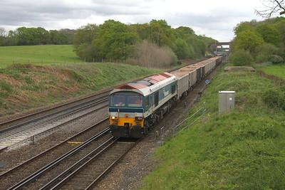 59103 Potbridge 24/04/19 7V12 Woking to Merehead