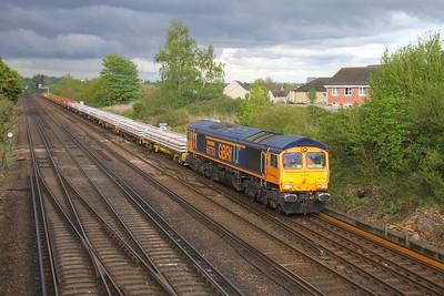 66753 Worting Junction 26/04/19 6Y42 Hoo Junction to Eastleigh