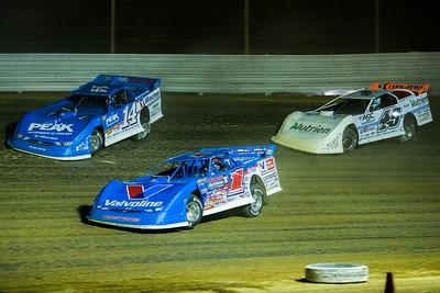 Brandon Sheppard (1), Josh Richards (14) and Jonathan Davenport (49)