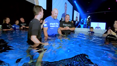 2019 August Baptism 400pm Service