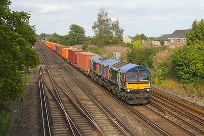 66718 Worting Junction 22/08/19 4O69 Hams Hall to Southampton Western Docks