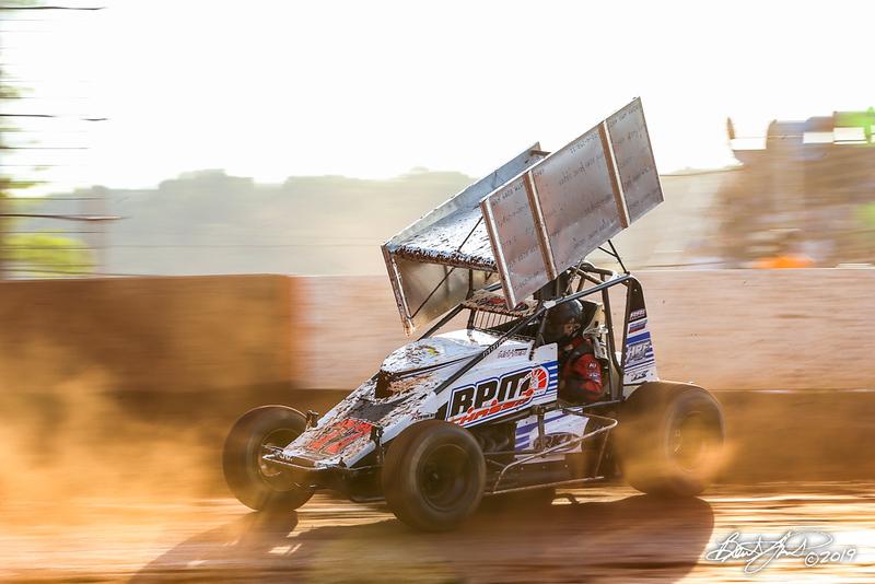 Greg Hodnett Foundation Race - BAPS Motor Speedway - 77 Russ Mitten